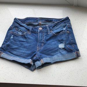 Jean short